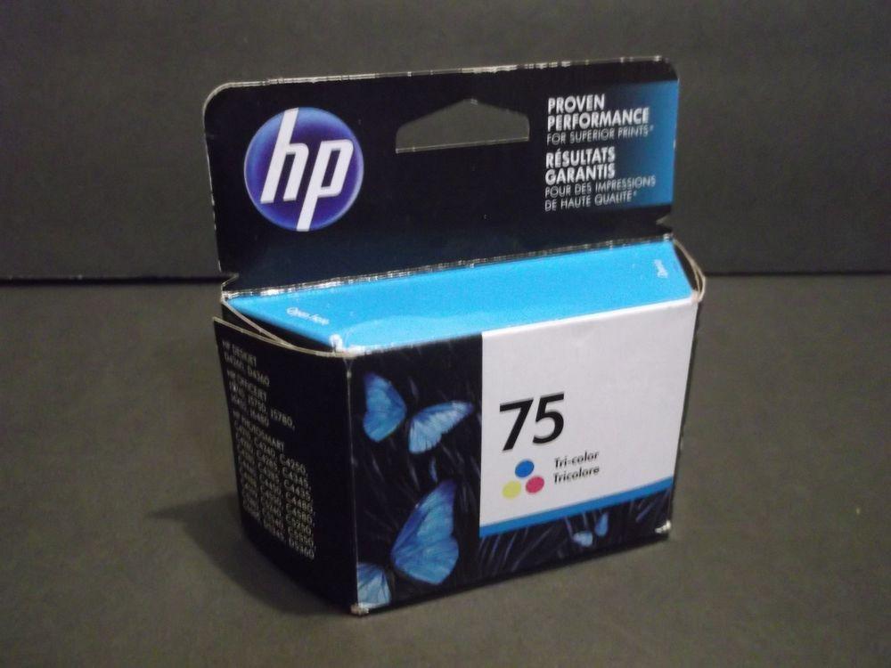 Hp 75xl tricolor printer ink cartridge cb338wn high yield