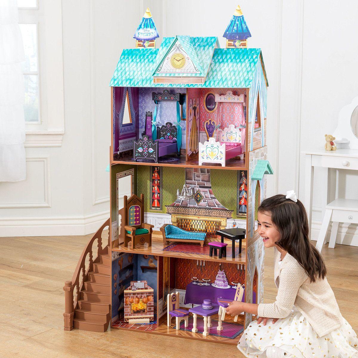 Disney 65945 Frozen Arendelle Palace Dollhouse Doll