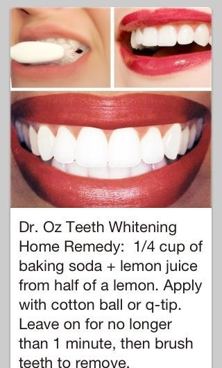 Lemons are very bad for the teeth this seems like an odd combination. #OremDentist
