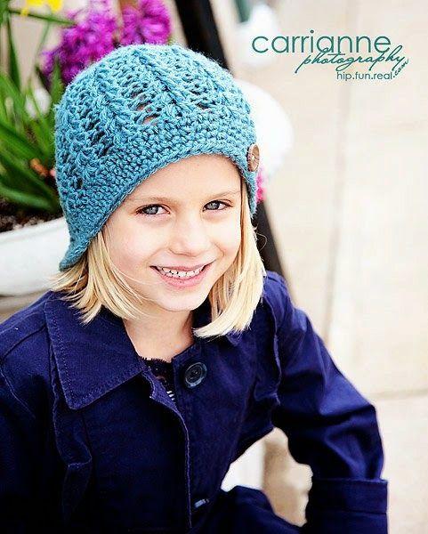 Lizzy Hat ~ free pattern ᛡ | Crochet Hats | Pinterest