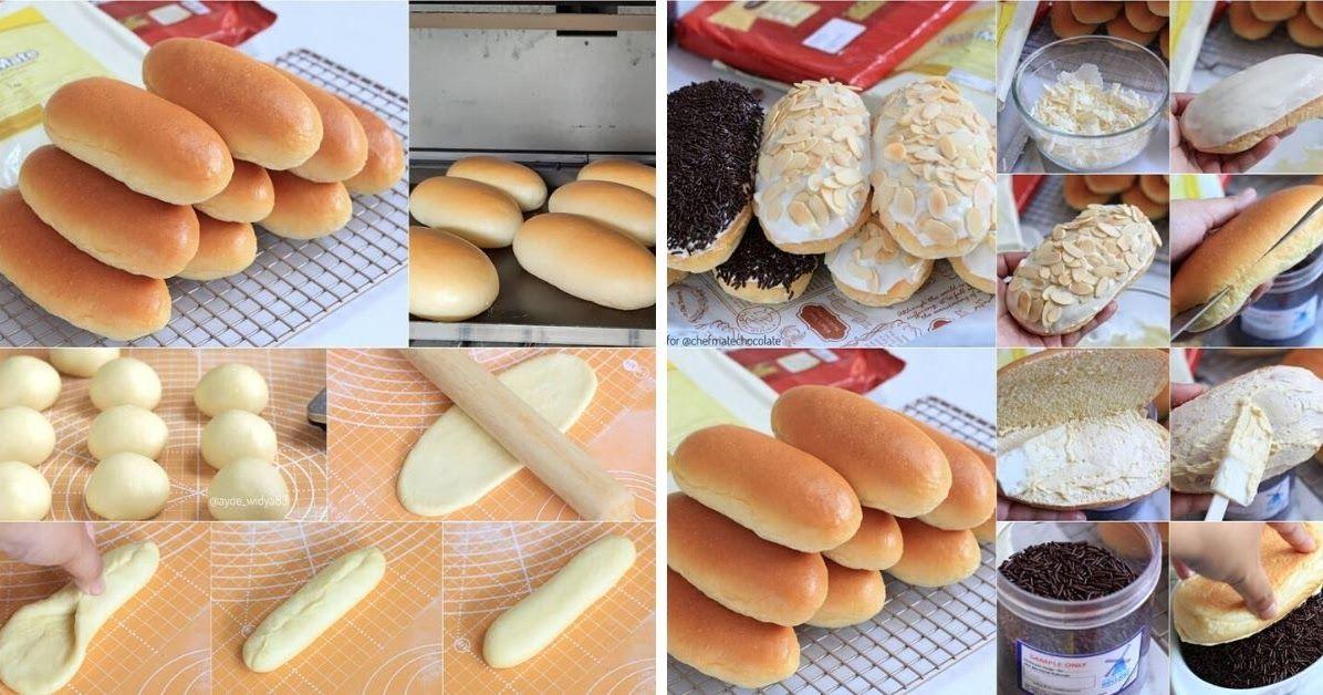 Hari ini kita bikin Roti manis kosongan yang simple ya mak. Roti