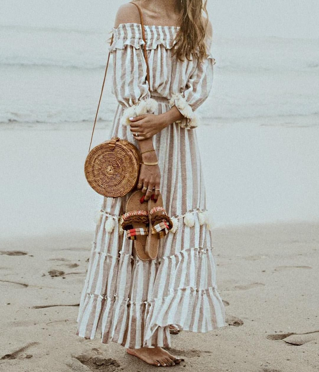 Pin by selin kurum barlas on Beach in 2020   Fringe dress