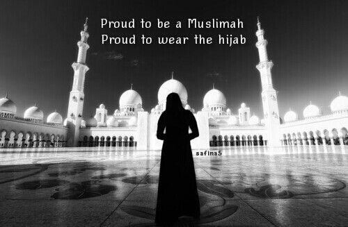 Proud to wear the hijab