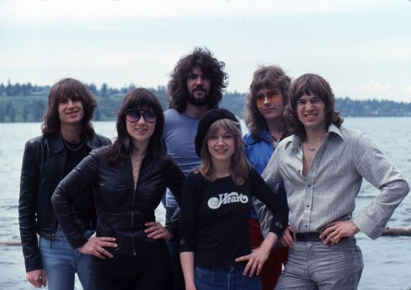 Band Heart May 1977   Pose for a Portrait Session  Photo by Michael Marks/Michael Ochs