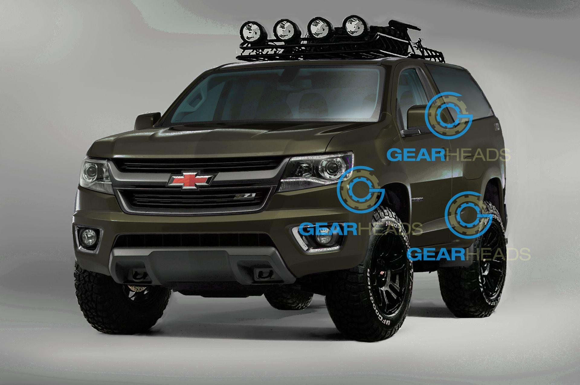 2016 Chevy Blazer K 5 Is In Your Hands Gear Heads