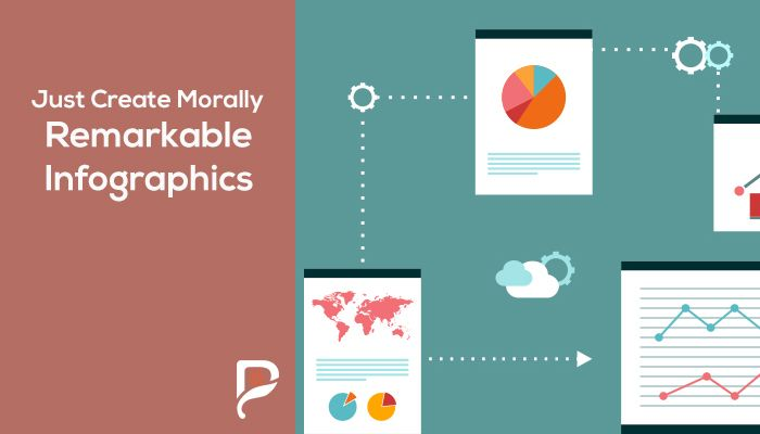 Just Create Morally Remarkable Infographics
