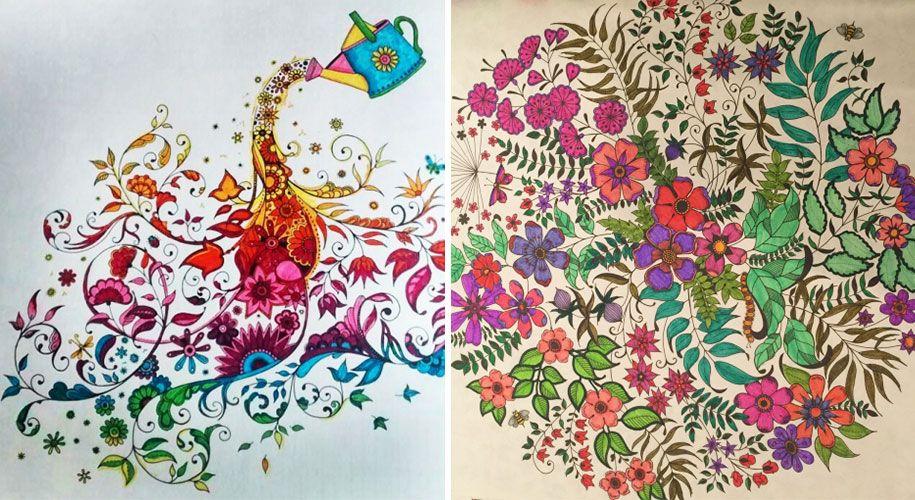 Coloring Books Adults Johanna Basford 10