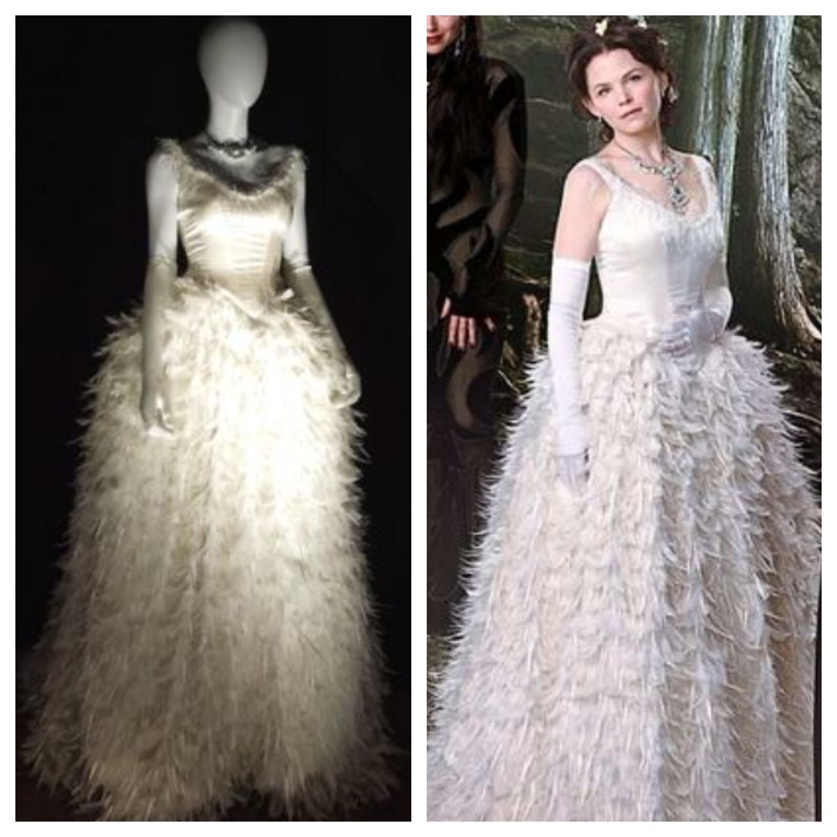 Once Upon A Time Snow White Wedding Dress