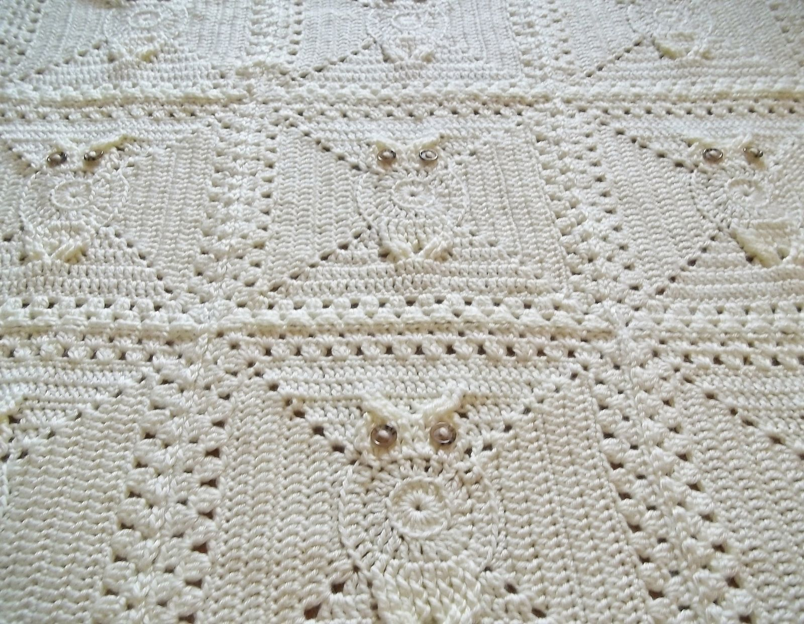 Ravelry: Its a Hoot Owl Afghan Square by Carlinda Lewis