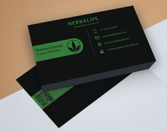 Herbalife business card 03 designs herbalife business cards this herbalife business card design will show potential customers herbalife business cards templates accmission Images