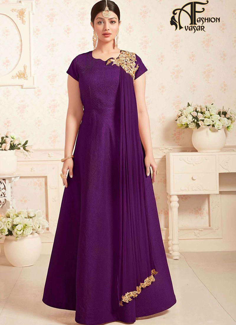 Women's Designer Clothes - Floral Printed High Neck Blouse