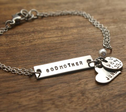 bangles charm christmas s aa godmother bracelet ff bangle gift jewelry handmade aunt initial baptism cross personalized
