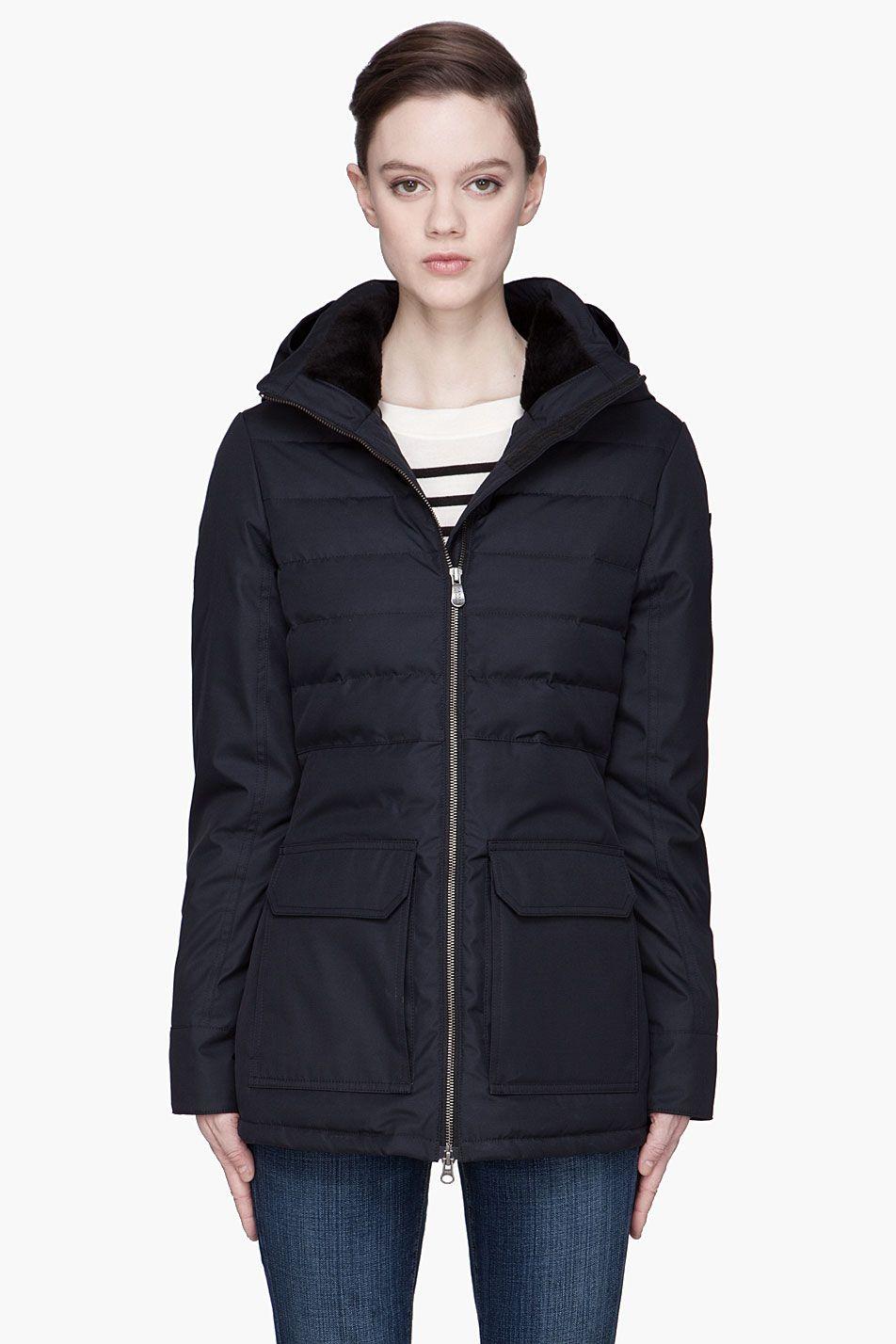 canada goose long down jacket