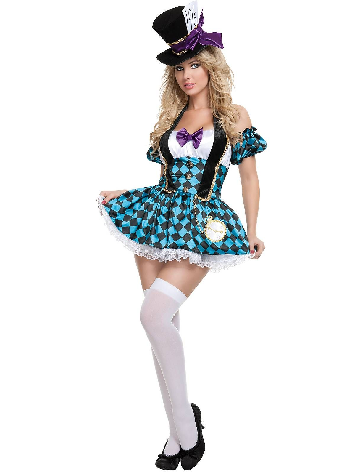 Women's Sexy Mad Hatter Costume | Fairytale costume, Costumes and ...