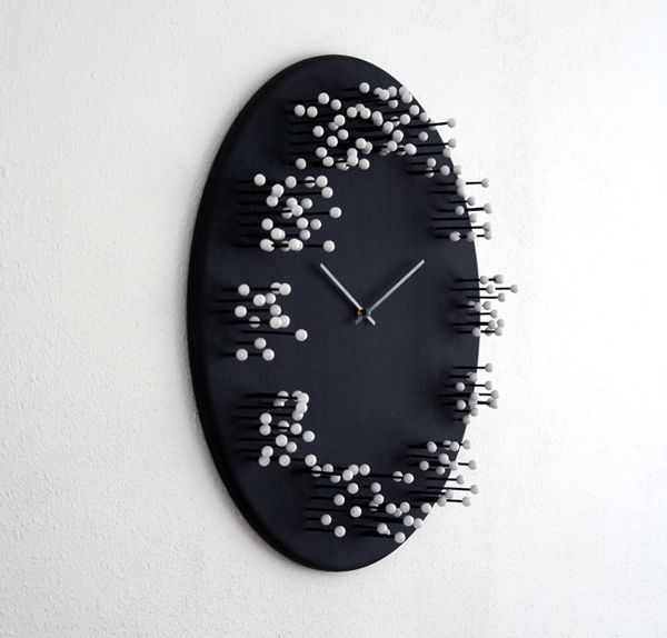 It S A Matter Of Perspective Viewed From The Front And From The Sides Give Different Visuals Wall Clock Clock Bamboo Wall