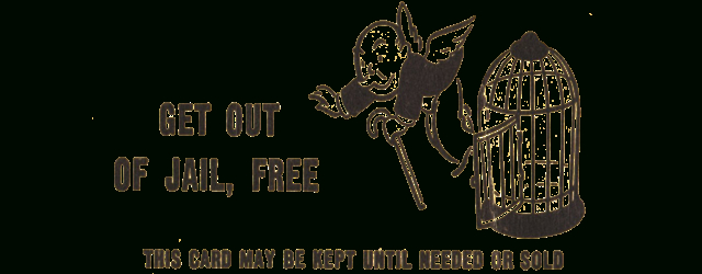 Free Card A Get Out Of Jail Free Card Inside Samples Of Get Out Of Jail Free Card Templat Card Templates Free Good Luck Cards Business Card Templates Download