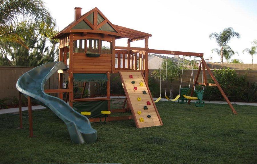 Backyard Playground Sets Big Backyard Leisure Time Swing Sets