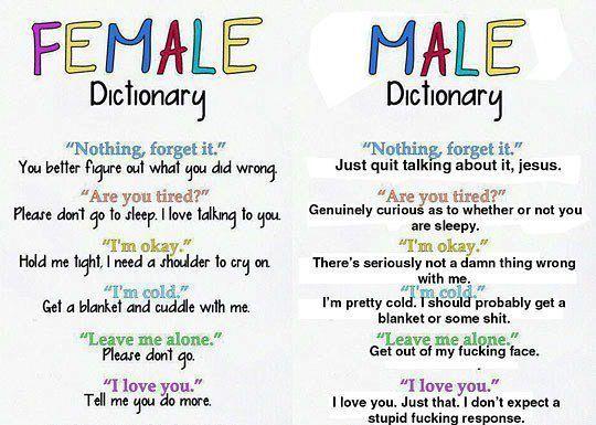 Men versus women quotes