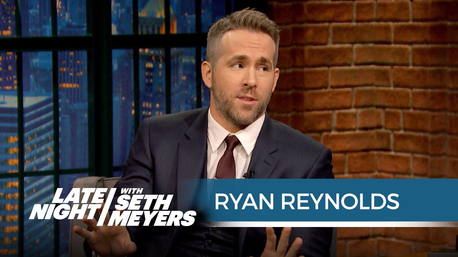 Delivery Room Seth Meyers Ryan Reynolds Late Nights Blake Lively Dj