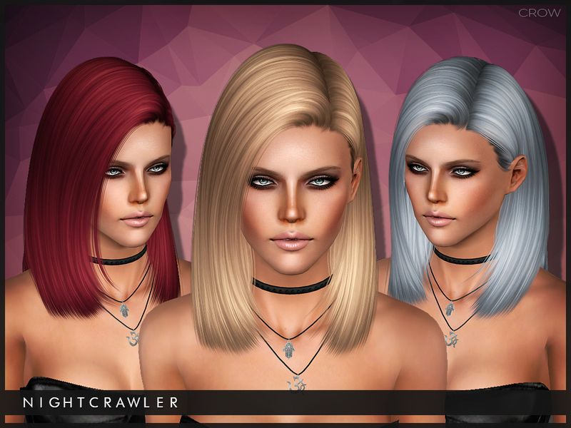 Hairstyles Girl Download: S4 Conversion Found In TSR Category 'Female Sims 3