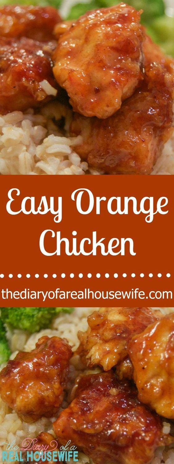 Easy Orange Chicken #chineseorangechicken