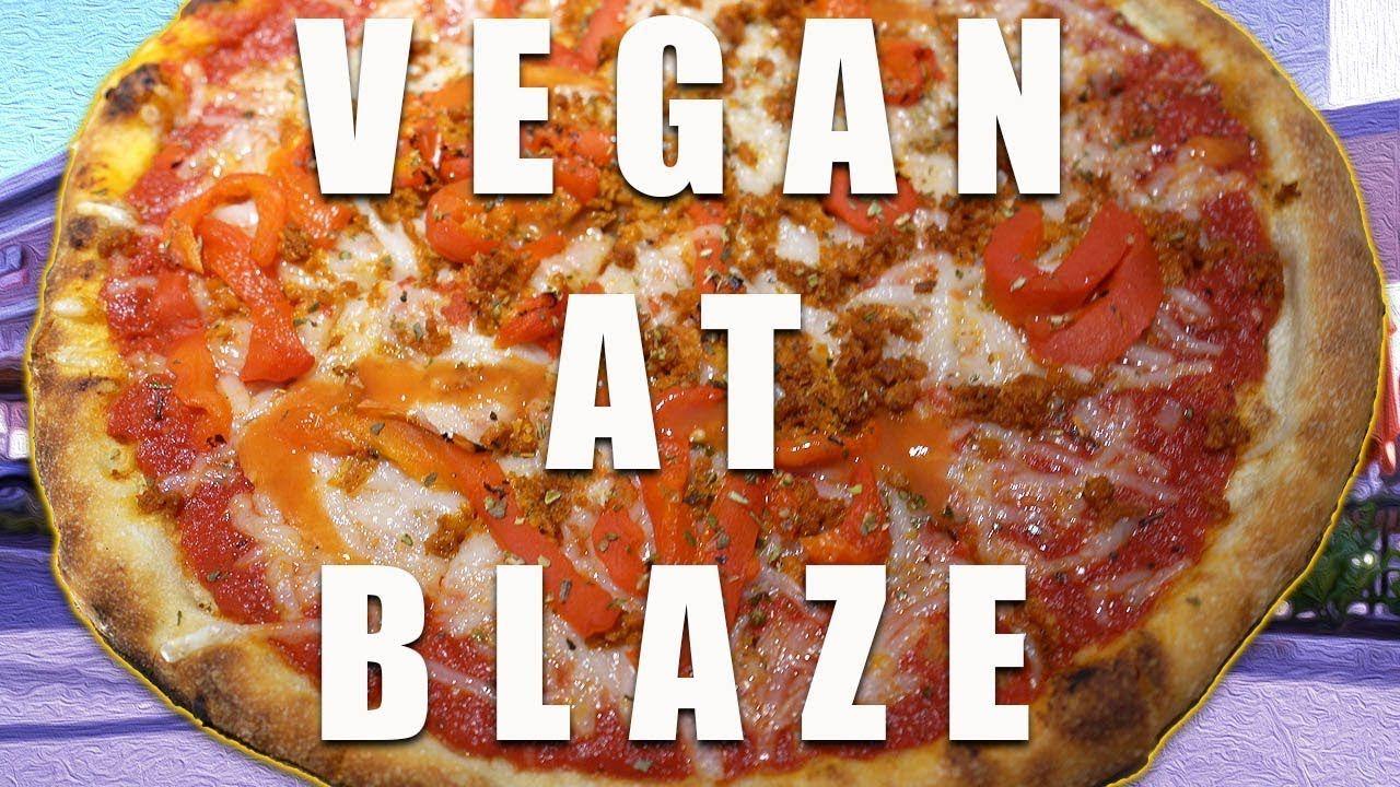 Vegan At Blaze Pizza Vegan Zombie Why Vegan Vegan