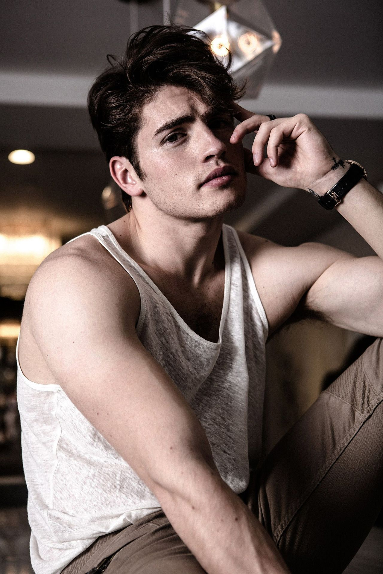 Gregg Sulkin photographed by Leslie Alejandro for BELLO
