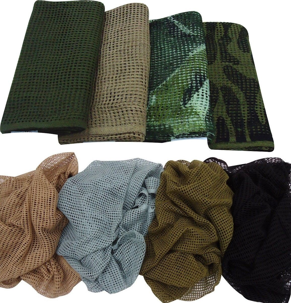 Camouflage Materials 177911: Sniper Veil Scrim Net Tactical
