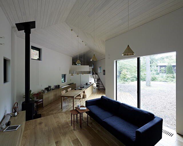 house in nagano japan by studio synapse photos by hagane torimura