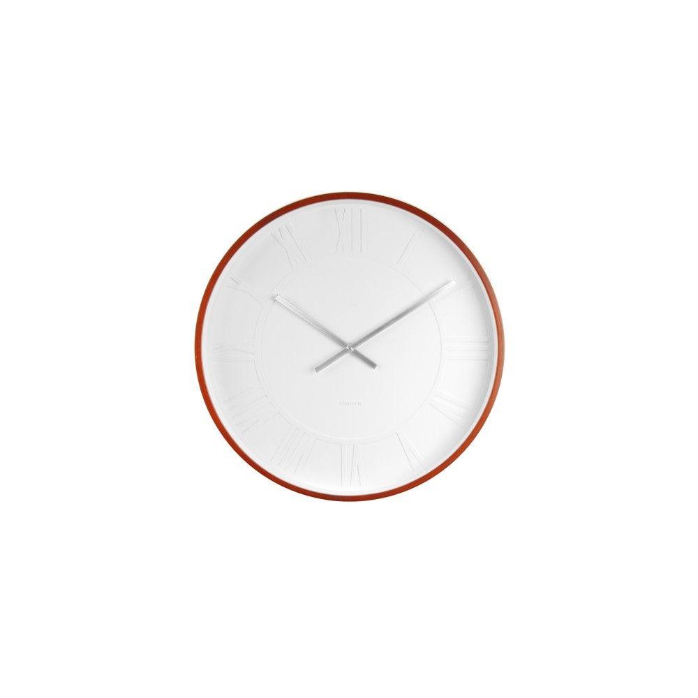 Horloge Mr. WHITE Chiffres Romains Karlsson | 123 design
