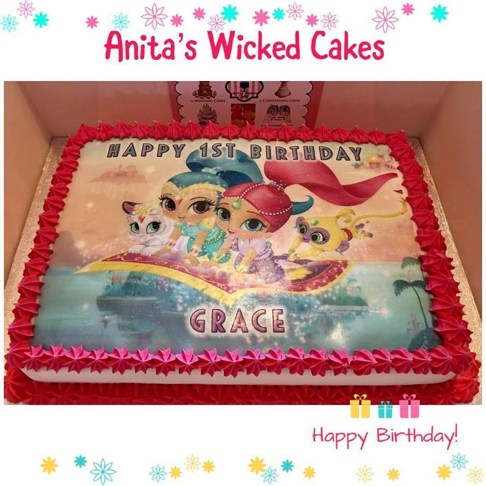 Shimmer And Shine Cake Cute Cakes Cupcakes Pinterest Cake