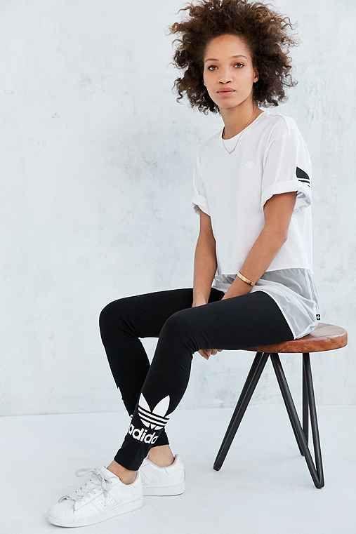 Kanye's Outfitters Legging Urban Adidas Originals Trefoil vqxwEXXBUC
