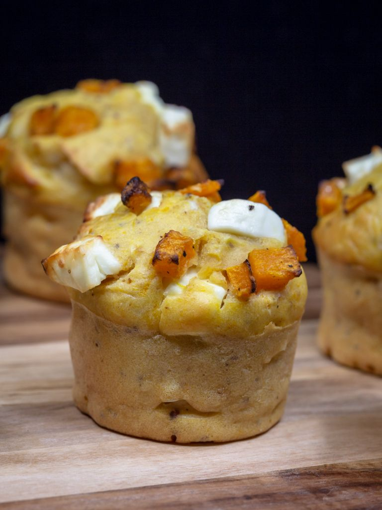 Muffins Butternut Féta - Free The Pickle