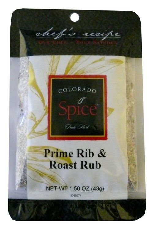 Prime Rib & Roast Rub will impress all your family and friends! Try our Perfect Sunday Roast recipe.