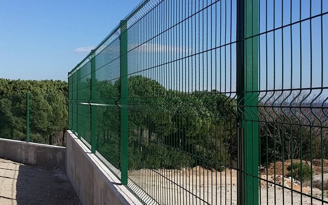 Resultado de imagen para valla metalica jardin decoraci n terraza valla metalica jardin - Valla metalica jardin ...