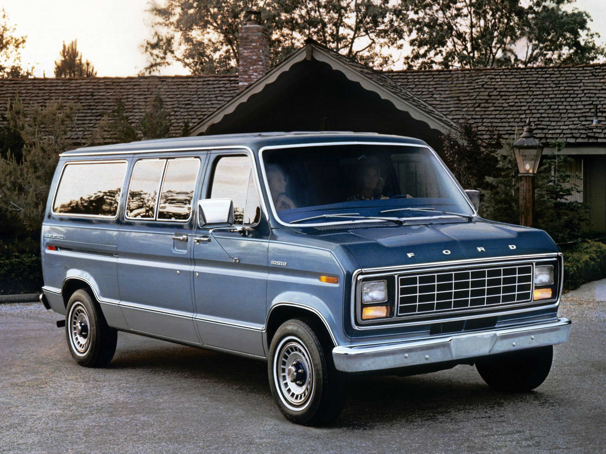 1980 Econoline Van Family Transportation Ford Van Wagon