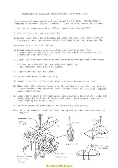 New Home Janome 656 Sewing Machine Service Parts Manual Sewing Machine Service Machine Service Sewing Machine
