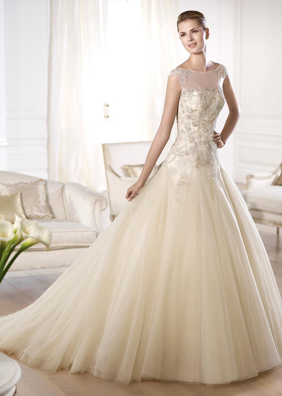 Obdulia by Pronovias available at Teokath of London   Wedding Gowns ...