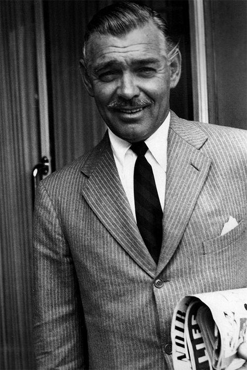 Astonishing Clark Gable.