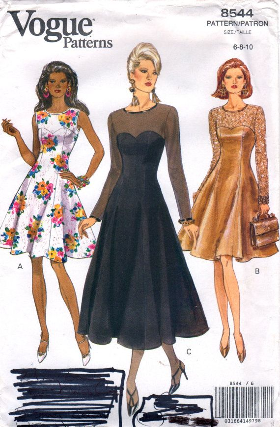 Cocktail Dress Patterns for Women