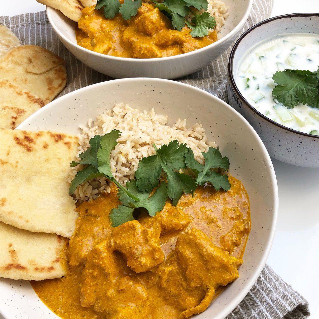 Chicken Tikka Masala En Smagfuld Indisk Ret Mummum Dk Opskrift Indisk Mad Indiske Opskrifter Aftensmad