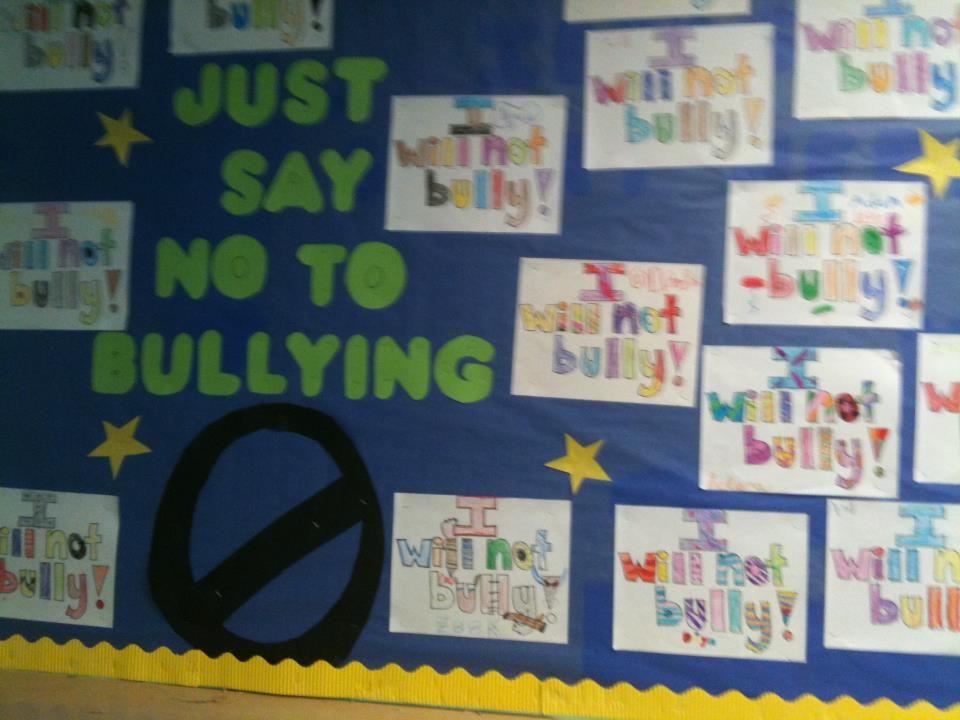 AntiBullying Board Bulletin Boards Bullying