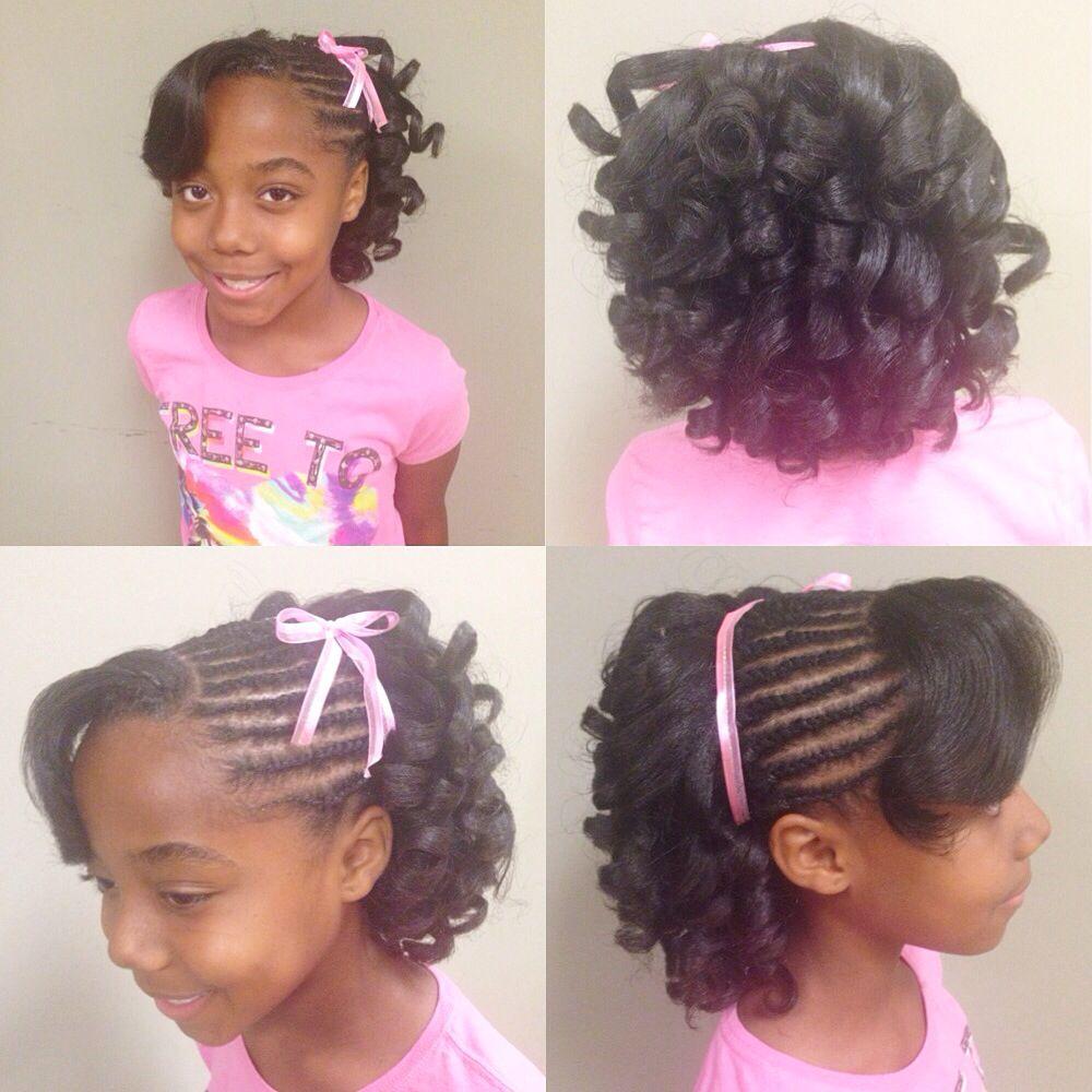 miss brooklyn got her first big girl style:-)   kids