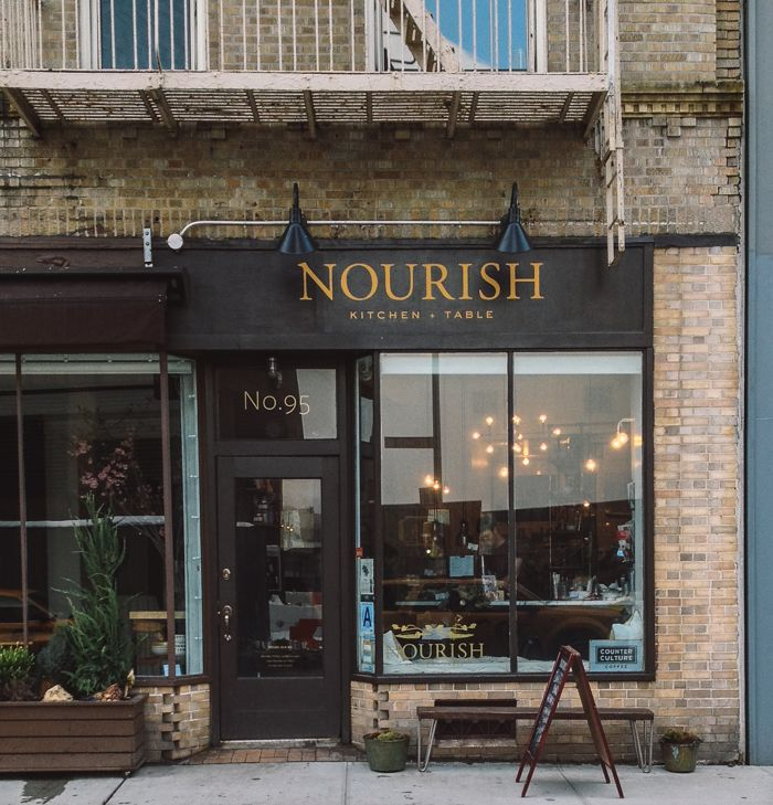 Nourish Kitchen Table Nyc
