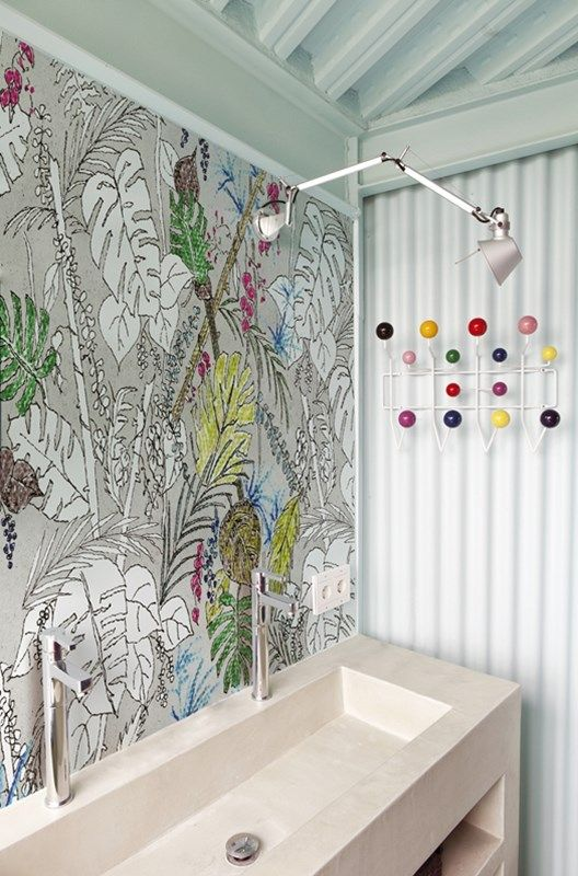Wasserdichte Tapeten Für Die Dusche Bad Deko Wand