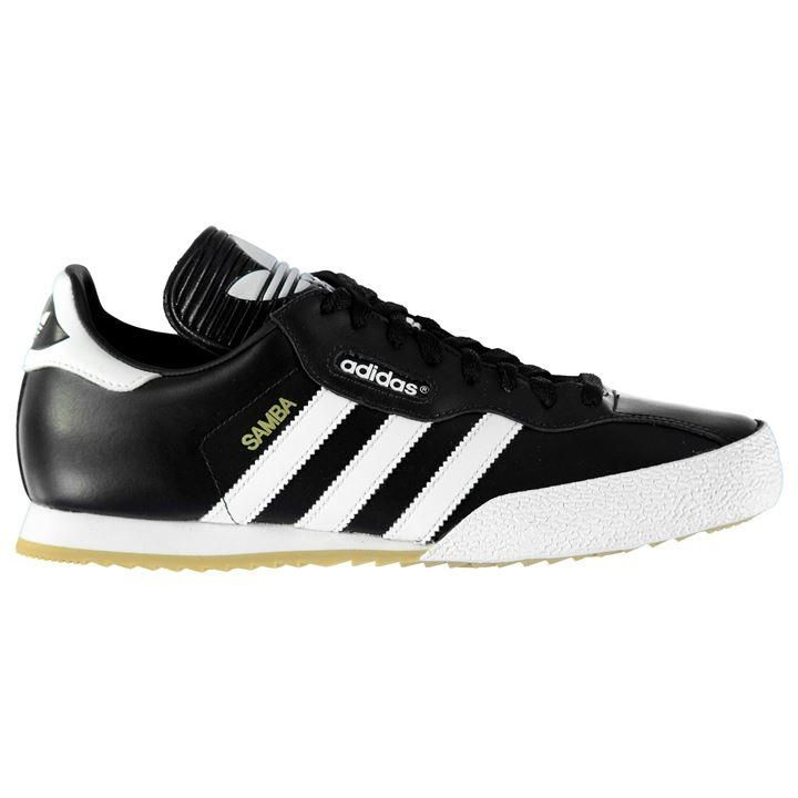 black samba trainers