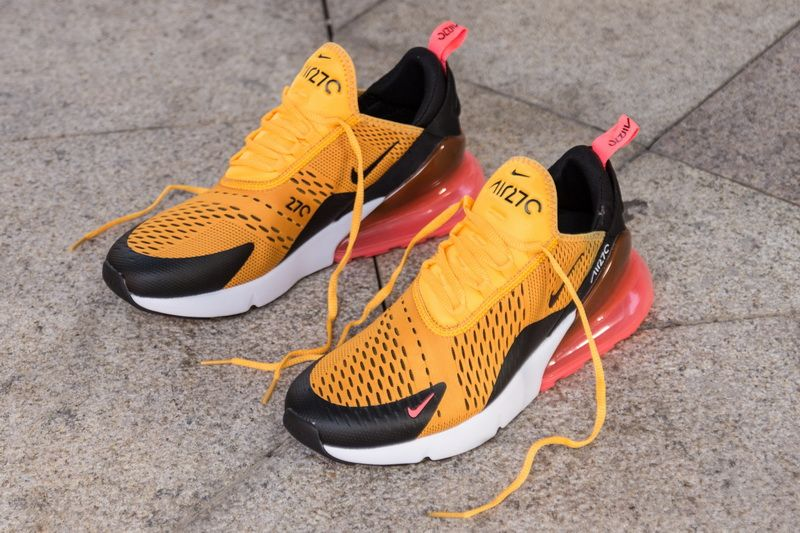 Nike Air Max 270 AH8050 004 Yellow Shoes for online Sale
