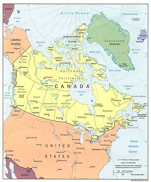 Canada And Alaska Map Pin on Maps