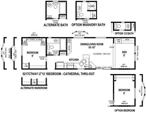 Skyline Park Model Floor Plan Floor Plans Park Model Homes Rv Lots