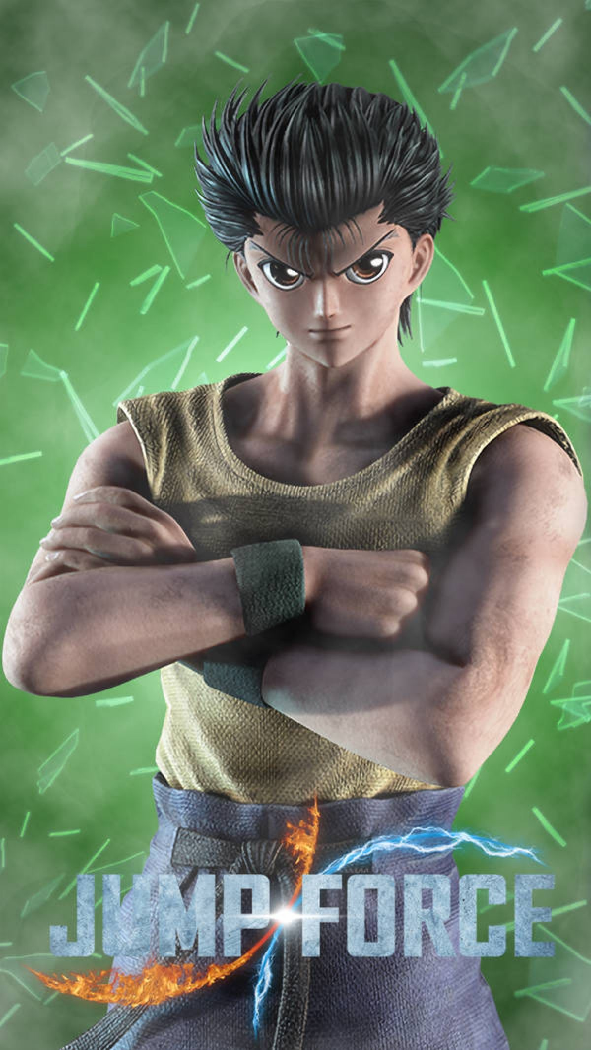 Jump Force Yusuke Urameshi Yu Yu Hakusho By Farizf On Deviantart Hunter Anime Yu Yu Hakusho Anime Dragon Ballz Goku